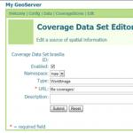 Configurando Coverages no GeoServer – Parte 1