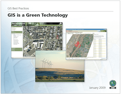 e-Book: Gis is a Green Technology