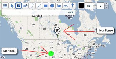Desenhando no google maps blog do fernando quadro com o scribble maps possvel desenhar formas em cima do mapa google voc tambm pode colocar marcadores e texto salvar o seu mapa como uma imagem ou stopboris Images