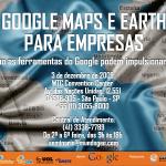 Seminário Google Maps e Earth para Empresas