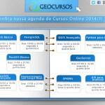 GEOCURSOS: Agenda de Cursos Agosto/Setembro